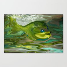 Smilen Sam The Fish...For Kids Canvas Print