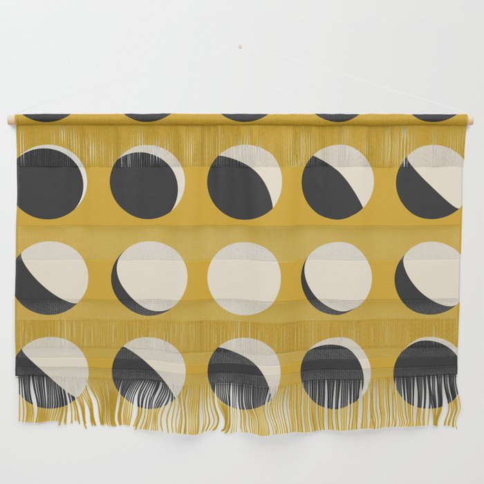 Moon Phased in Honey Wall Hanging