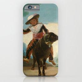 Goya- Boy on a Ram iPhone Case