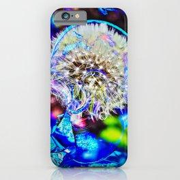 Abstract - Perfektion - Pusteblume iPhone Case