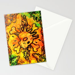Lucky goes popn°5 Stationery Cards