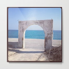Port of Crete Metal Print