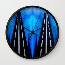 Cold Shoulder Wall Clock