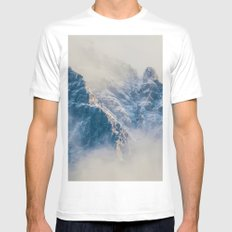 Misty Mountain Mens Fitted Tee White MEDIUM
