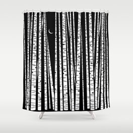 See the Forest Shower Curtain