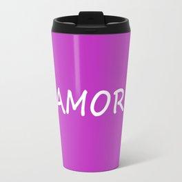 Amor, Spanish Love Travel Mug