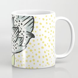 Vintage flower bud Coffee Mug