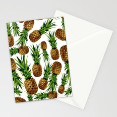 Pineapples 9 Stationery Cards