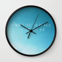Kite In The Sky Wall Clock