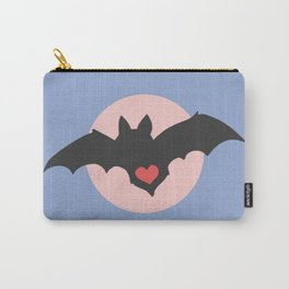 I love Bats - Pastel Carry-All Pouch