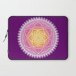India Flower Mandala Laptop Sleeve