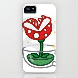 Piranha Plant Tea iPhone Case