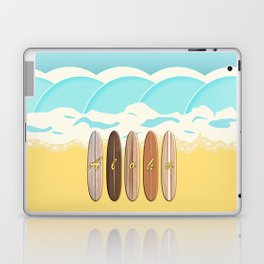 Aloha Surf Wave Beach Laptop & iPad Skin