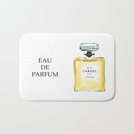 Yellow Parfum Bath Mat