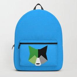 Aromantic pride wolf Backpack