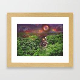 Planet Hemp Framed Art Print