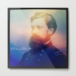 Howard. 1830-1909. Metal Print