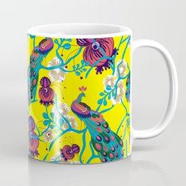 Maximalist Peacock Coffee Mug