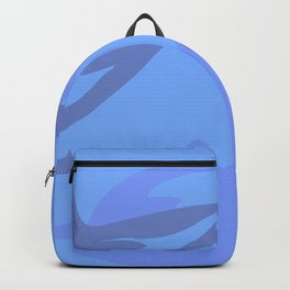 Dolphin Background Backpack