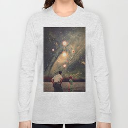 Light Explosions In Our Sky Long Sleeve T-shirt