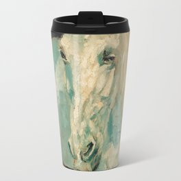 Henri De Toulouse Lautrec - The White Horse Gazelle Travel Mug