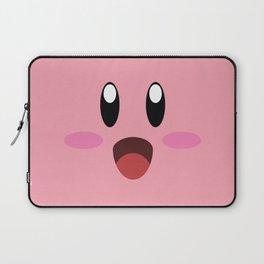 Kirby face illustration Laptop Sleeve