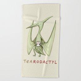 Tearodactyl Beach Towel