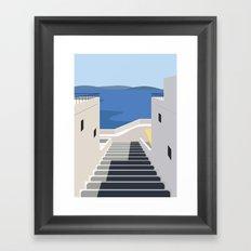Summer Steps Framed Art Print