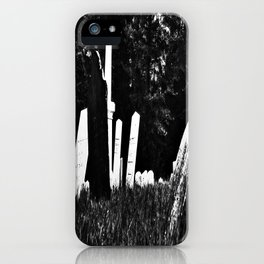 Womb To Tomb iPhone Case