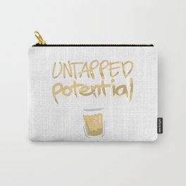 Untapped Potential Carry-All Pouch