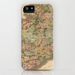 Vintage Map of Ireland (1831)  iPhone Case