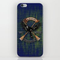 quidditch iPhone & iPod Skins featuring Ravenclaw team captain quidditch by JanaProject