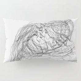 make-out? (B & W) Pillow Sham