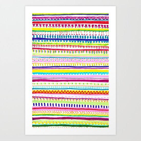 Summer Anxiety Art Print