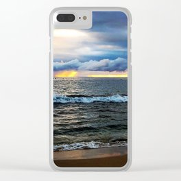Poipu Sunset Kauai Clear iPhone Case