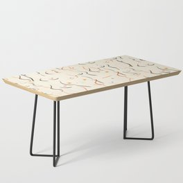 Breasts in Cream Coffee Table