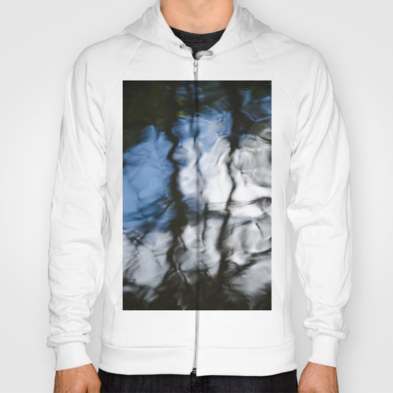 Abstract water reflection Hoody