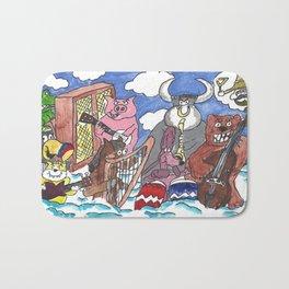Animal Orchestra Bath Mat