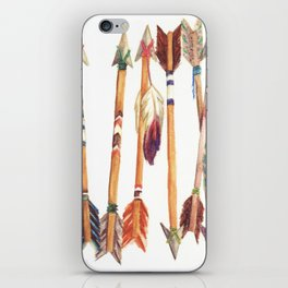 Feathered Arrows iPhone Skin