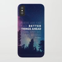 """pocketfuel iPhone & iPod Cases featuring CS Lewis """"Better Things Ahead"""" by Pocket Fuel"""
