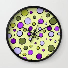 Dots-Waiting For Spring Wall Clock