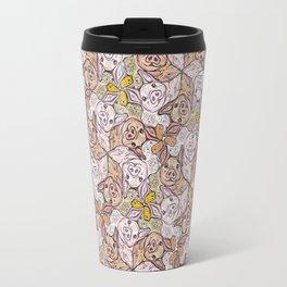 Pig Duck Sheep Escher Trio Travel Mug