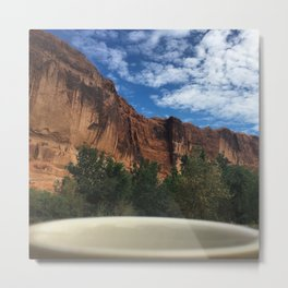 Breakfast View, Arches Natonal Park Metal Print