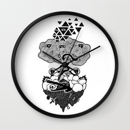 Hypnoisland Wall Clock