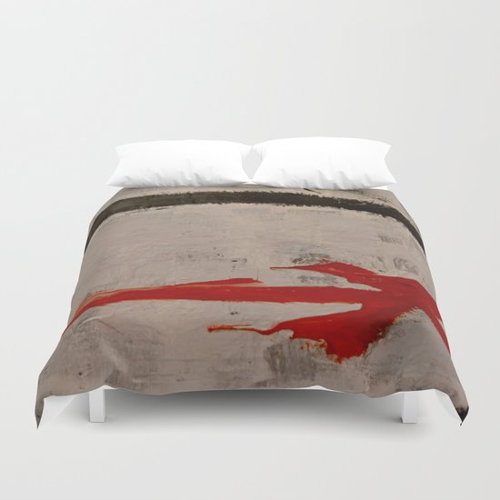 Abstract #3 Duvet Cover