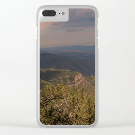 Spanish landscape Clear iPhone Case