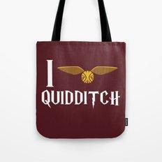 I love Quidditch Tote Bag