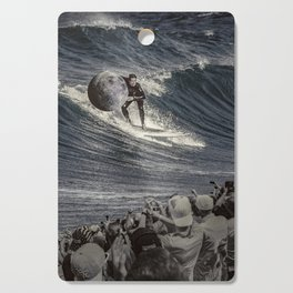 Steal the moon Cutting Board
