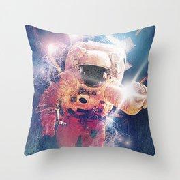 Astro Nova 02, capsule breach Throw Pillow