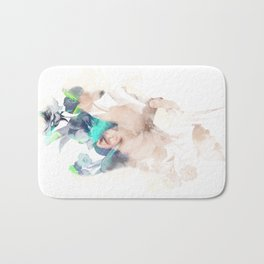 Play Hard Bath Mat